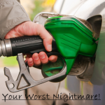 Grab the wrong nozzle and pump petrol in a diesel tank