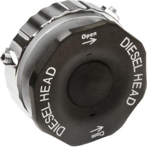 Diesel Head - the device to prevent misfuelling